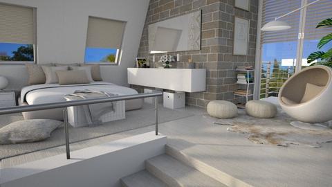Sloping Ceiling II - Bedroom  - by bigmama14
