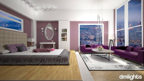 Girls room - Classic - Bedroom  - by DMLights-user-1466046