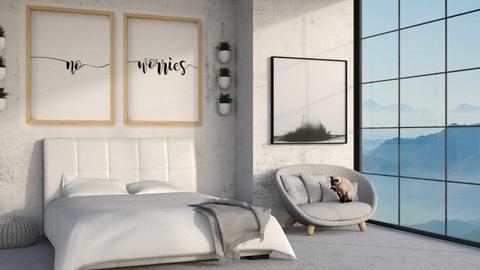 Rainy Bedroom 2 - Modern - Bedroom  - by kitacat