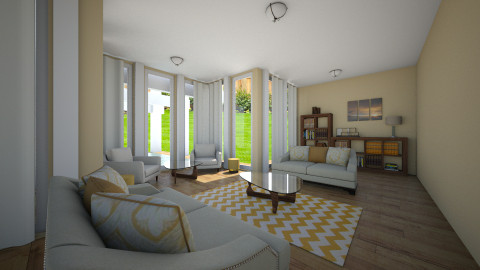 castle - Living room  - by Reka Rumann