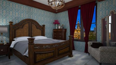 Art Noveau - Classic - Bedroom  - by Veny Mully