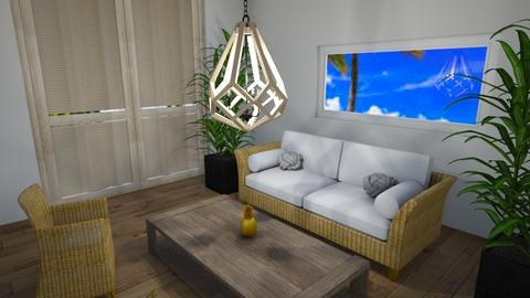 Tropical Living room - Living room  - by LilLil