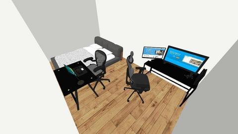 Mah Workspace - Modern - Bedroom  - by BenVnVlogger