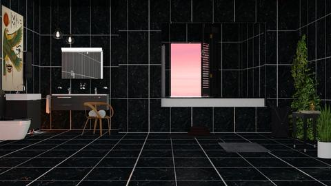 Darkness in Bathroom - Modern - Bathroom  - by elephant in savanna