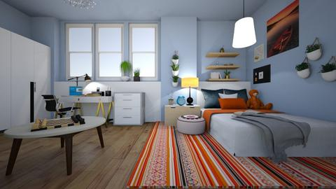Student room - Bedroom  - by Aquahouse Arch