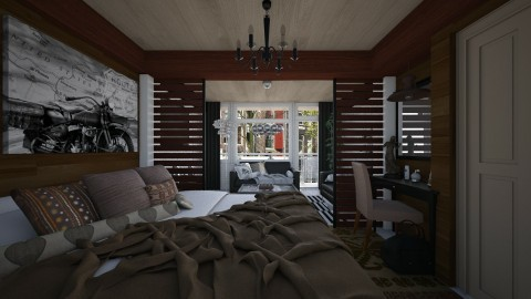 Bedroom Redesign Cocoa - Modern - Bedroom  - by deleted_1486240105_VermontianRain