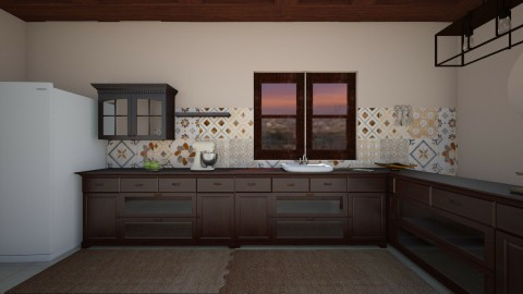 rustico - Rustic - Kitchen  - by Angela Quintieri