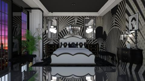 ART NOUVEAU - Glamour - Bedroom  - by RS Designs