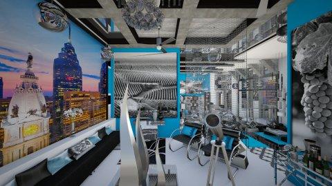 Zenith Skyline Lounge_2 - Modern - by dZynerSuPreme
