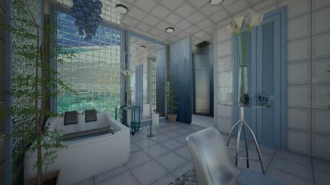 Casa de Banho - Bathroom  - by Maria Helena_215