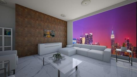 Pent House Living Room - Modern - Living room  - by XenaChico