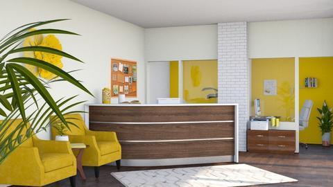 Bright Workspace - by flowerchild369