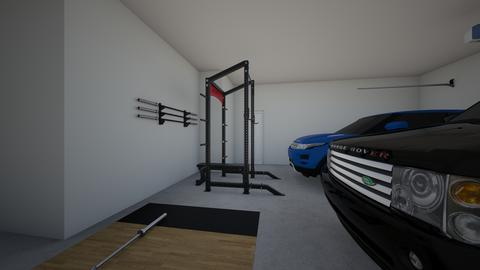 Garage gym - by rogue_7f98e3c7be4b9ee63c5e630f34d16