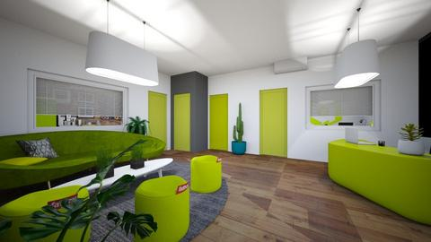 hall room x5 - Kitchen - by APEXDESIGN