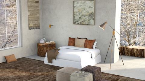 Warm Winter - Bedroom  - by ilikalle