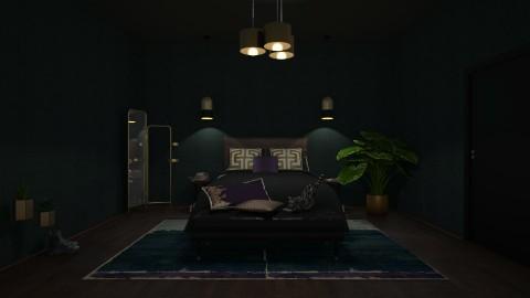 moody bedroom - by gotratti