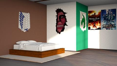 AOT Fan - Bedroom  - by kitacat
