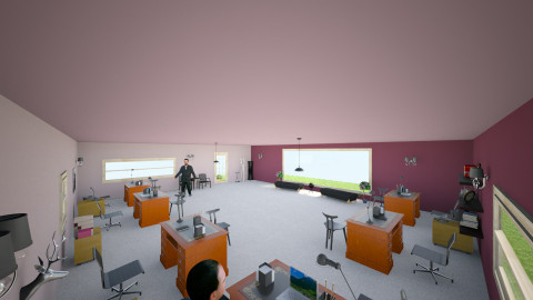Khansa Merghani - Modern - Office - by yofa24