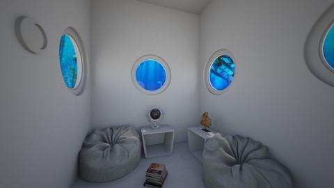 Submarine - Living room  - by Maudemarie