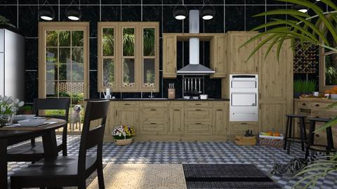 Design 429 IP Artisan Kitchen - Kitchen  - by Daisy320