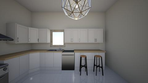 KITCHEN ELEVATION - Modern - Kitchen  - by turch21