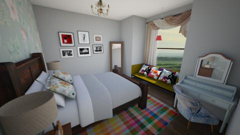 Dreamland - Bedroom - by mycha
