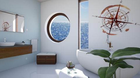 nautical bathroom - by Lo89