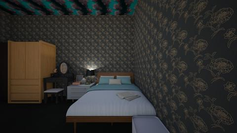 My house - Bedroom  - by rosejas_3