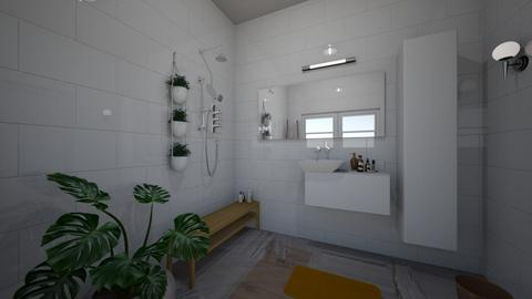 bathroom studio 3 - Minimal - by BlokhEphroni