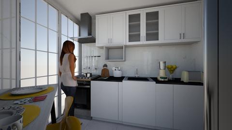 Cozinha - Kitchen  - by larissacarminato