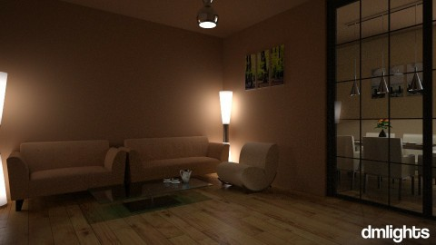 Cream - Living room - by DMLights-user-1555443
