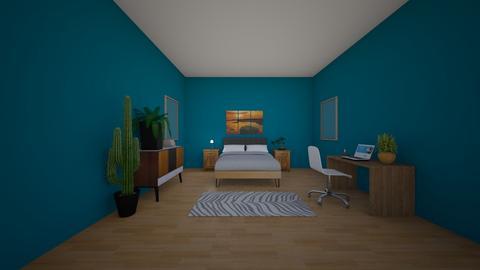 beach theme bedroom - Modern - Bedroom  - by Coolgurl