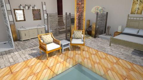 Bamboo Badaboom - Rustic - Bathroom  - by AshiraLevana