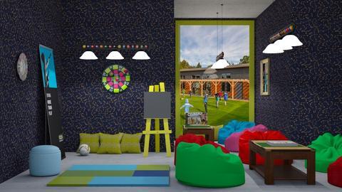 Fun Gaming Room - by rechnaya