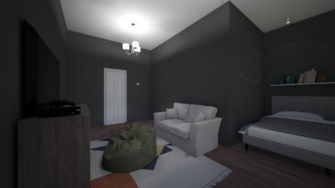 Gamer room for girls - Modern - Bedroom  - by ghhvghgvhvgvhvb