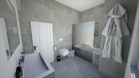 Grey Bathroom - Modern - Bathroom - by AnaCatarina