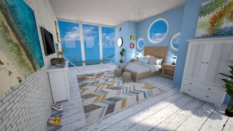 Nautical Home - Bedroom  - by g4bst0ck