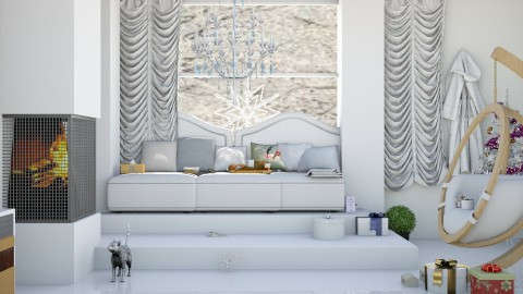 One Christmas Morning  - Modern - Living room  - by InteriorDesigner111