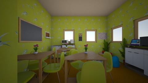 My design 1 - Office  - by irenekhan