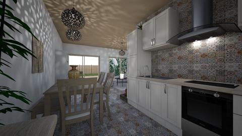 Cala House 2 - Kitchen - by Lisett