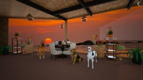SittingRoom - Rustic - Kitchen  - by lori gilluly