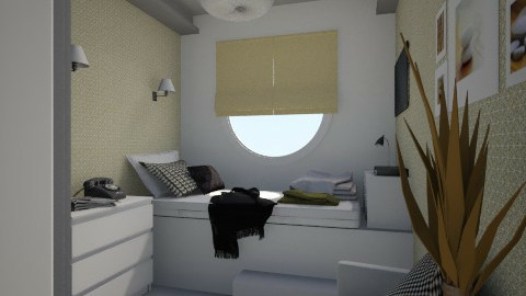 Nakagi Capsule B and B - Modern - Bedroom  - by Tuija