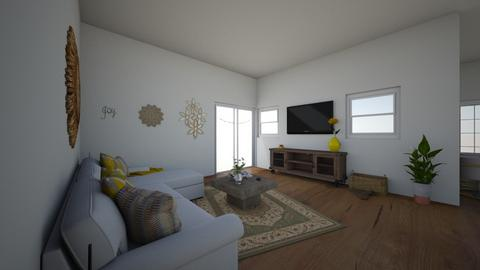 house - Living room  - by claramarie23