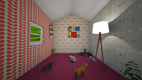 Cat room - by DoULike567