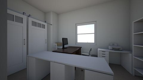 Tracy office layout 3 - Office  - by redlion54