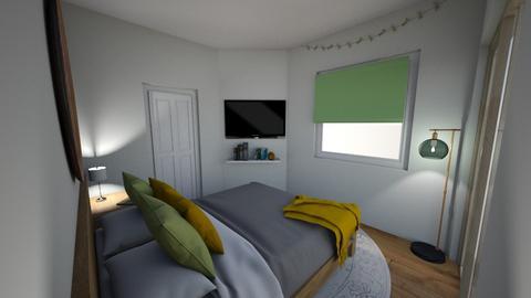 e - Bedroom - by beepbopbeepbop