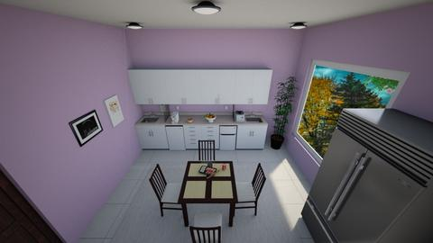 Little house5 - Kitchen - by Ninorucska