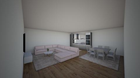 cozinha sala jantar estar - Classic - by Kimgui