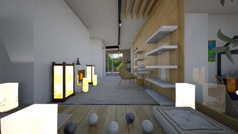 Zen_home office3 - Office  - by lovasemoke