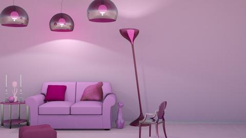 Pink - Living room  - by LaughingDonut
